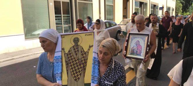 Festa di Sant'Apollinare e dell'icona della Madre di Dio di Počaev